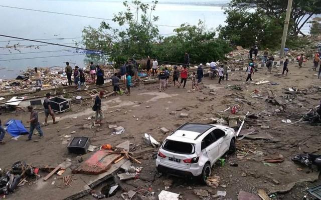 #Video La devastación del terremoto y tsunami en Indonesia - Daños en Palu por terremoto y tsunami. Foto de AFP / Getty Images