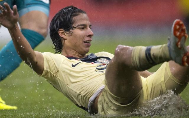 Descartan en América a Lainez para jugar en Copa MX - Foto de Mexsport