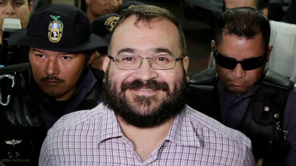 Duarte podría contar con beneficios luego de 4 años y medio en la cárcel - javier duarte dejó deuda de 15 mdp con la crus roja