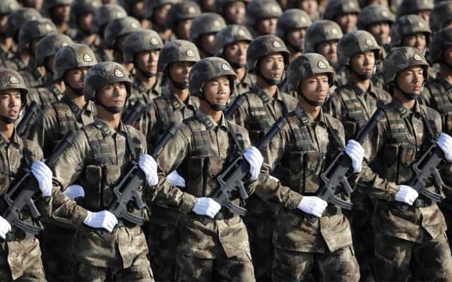 Los ejércitos con mayor personal activo en el mundo - Ejército de China. Foto de Internet