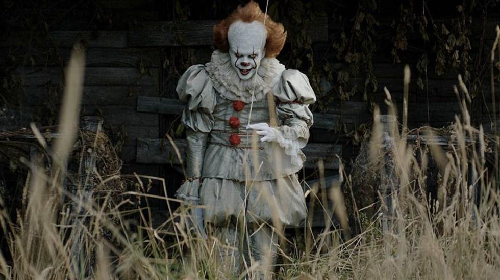 Jessica Chastian festeja fin del rodaje de 'It 2' con sangrienta foto - Foto de Internet