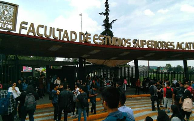 Alumnos de FES Acatlán inician paro de 72 horas - Foto de Internet