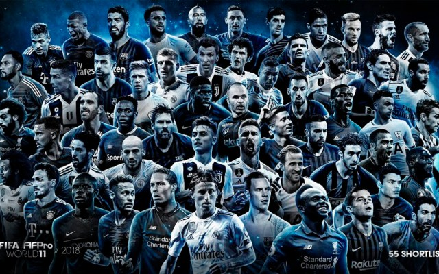 FIFA anuncia nominados para el 11 ideal de 2018 - Foto de @FIFAcom