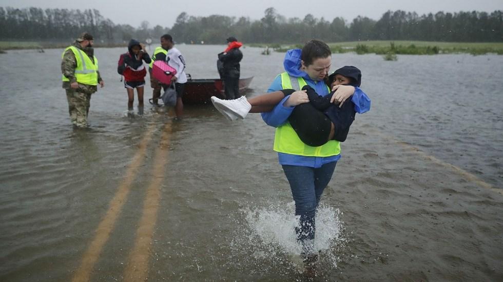 """Florence será """"amenaza importante"""" durante las próximas 36 horas - Foto de AFP / Getty Images"""