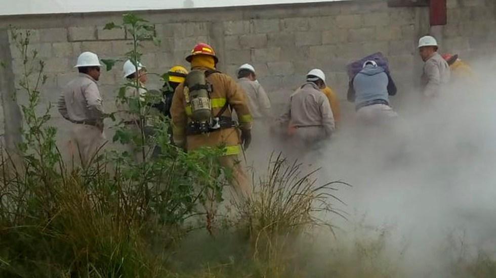 Reanudan clases 95 escuelas tras fuga de gas en Puebla - Foto de @PC_Estatal