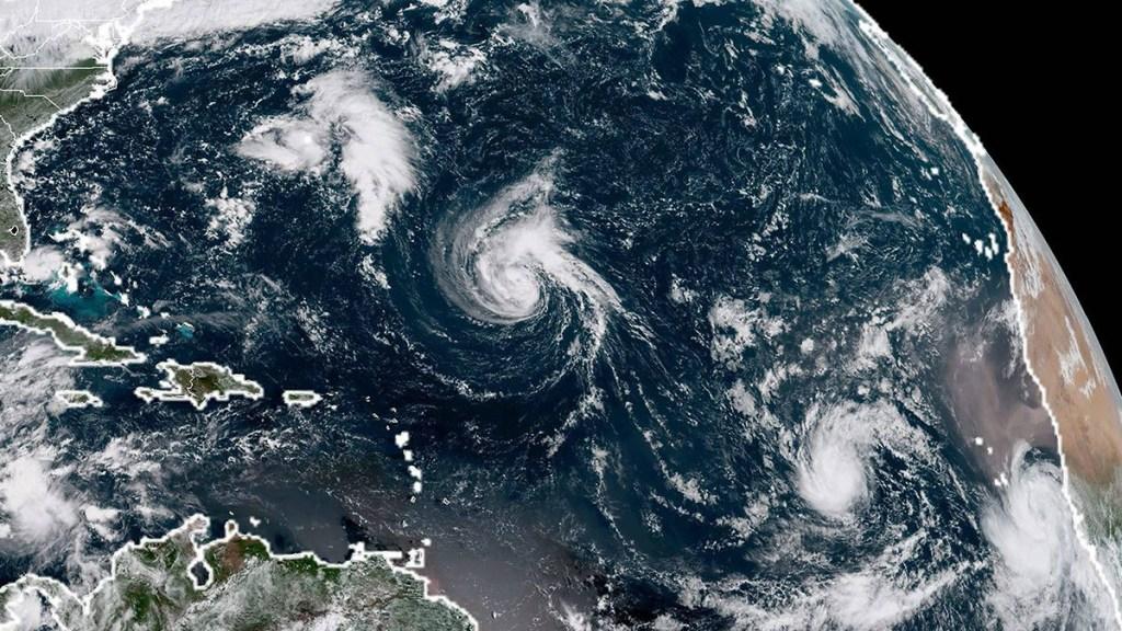 Florence se convierte en huracán categoría 1 - Foto de Internet