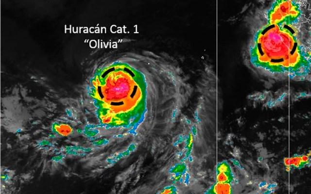 Huracán Olivia se aleja de costas mexicanas - Foto de @conagua_clima