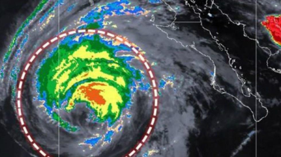 Rosa se degrada a huracán categoría 1 - Foto del SMN