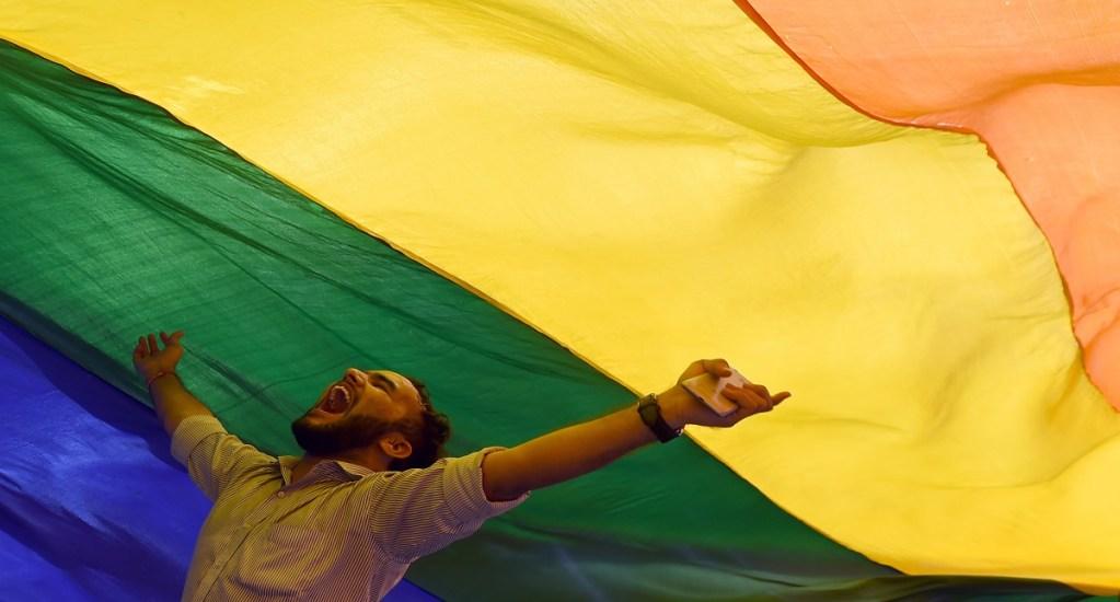 India despenaliza la homosexualidad - Foto de AFP / Indranil Mukherjee
