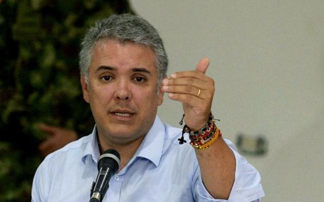 Duque clausura diálogo con ELN en Cuba y lanza advertencia a Venezuela - Foto de Internet