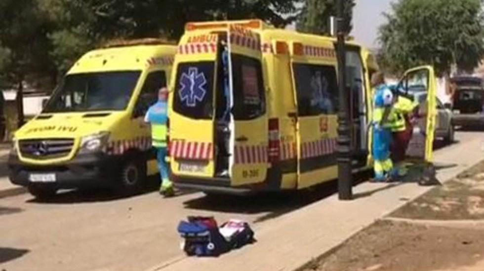 Ladrón se suicida a cuchilladas al verse acorralado por la Policía - Foto Captura de Pantalla