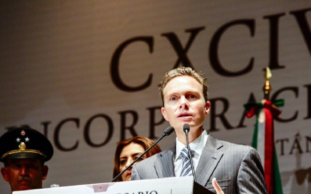 Manuel Velasco, nuevo coordinador de senadores del PVEM - Foto de @VelascoM_ (Archivo)