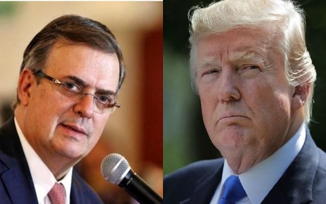 No me sorprende la amenaza de Trump: Marcelo Ebrard - Marcelo Ebrard señaló que es normal la amenaza de Donald Trump sobre cerrar la frontera con méxico