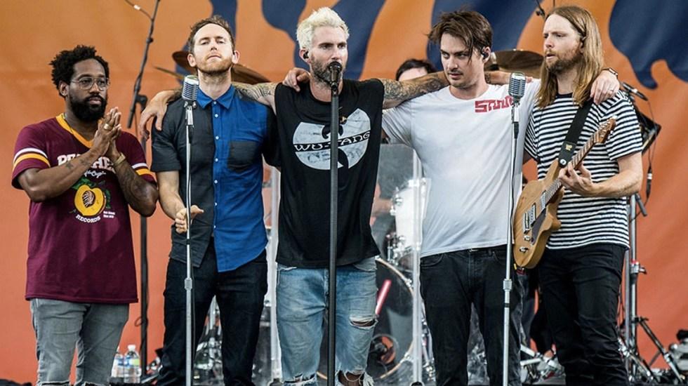 Maroon 5 actuará en el Half Time Show del Super Bowl - Foto de Variety