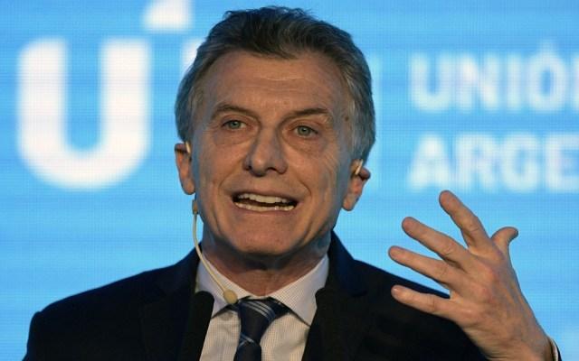Macri asumirá presidencia temporal del Mercosur - Foto de AFP / Juan Mabromata