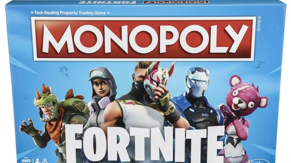 Hasbro Lanzara Edicion De Monopoly Basada En Fornite