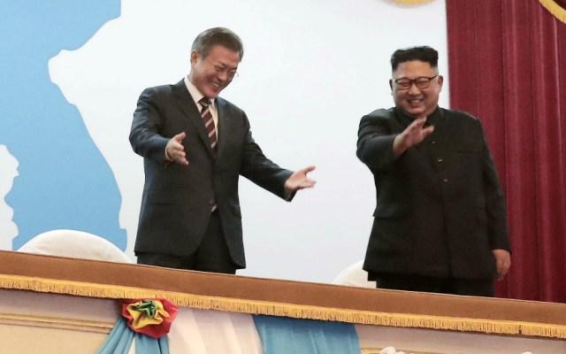 Alentadores resultados de cumbre entre Corea del Norte y Corea del Sur: SRE - Foto de AFP