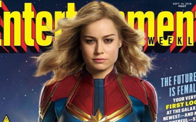 Primera imagen de Brie Larson como Captain Marvel