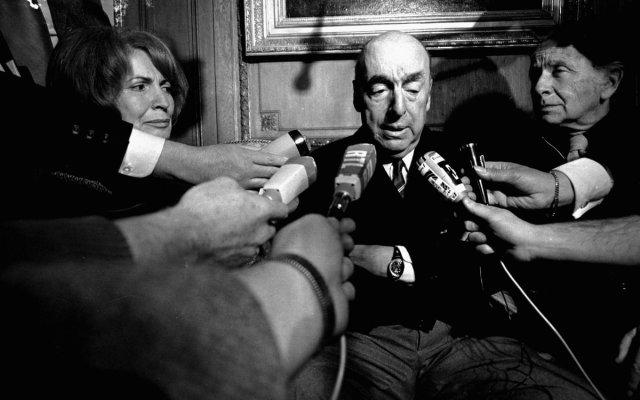 A 45 años de la muerte de Pablo Neruda - Foto de AFP