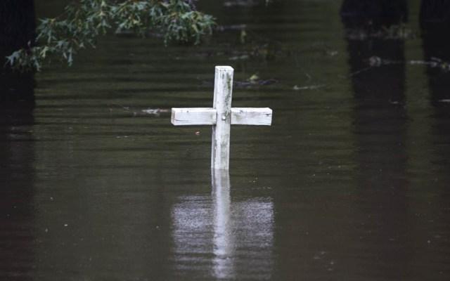 Paso de Florence deja inundaciones mortales en EE.UU. - Foto de AFP / Andrew Caballero-Reynolds
