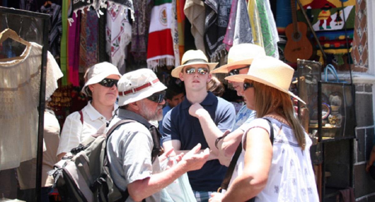 Turistas extranjeros en México. Foto de Internet