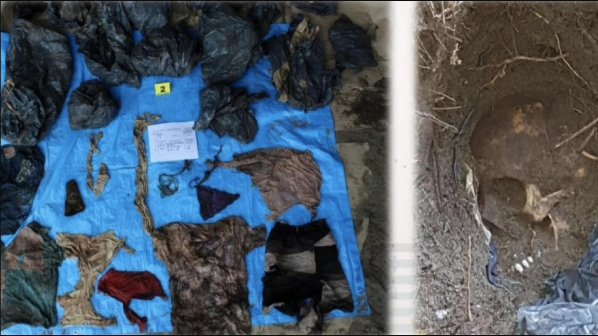 Hallan 166 cuerpos en fosas de Veracruz