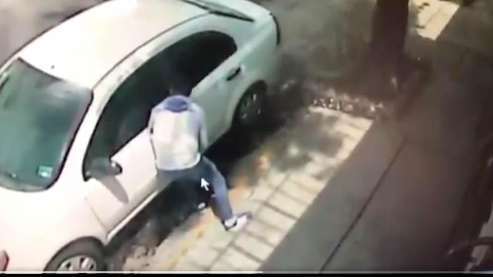 #Video Roban automóvil en menos de 20 segundos en la GAM - Captura de pantalla