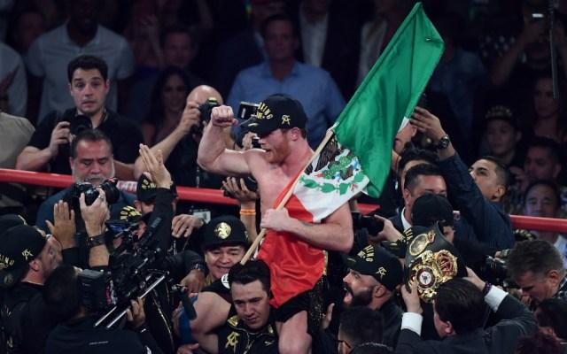 'Canelo' Álvarez anuncia próxima pelea - Foto de AFP