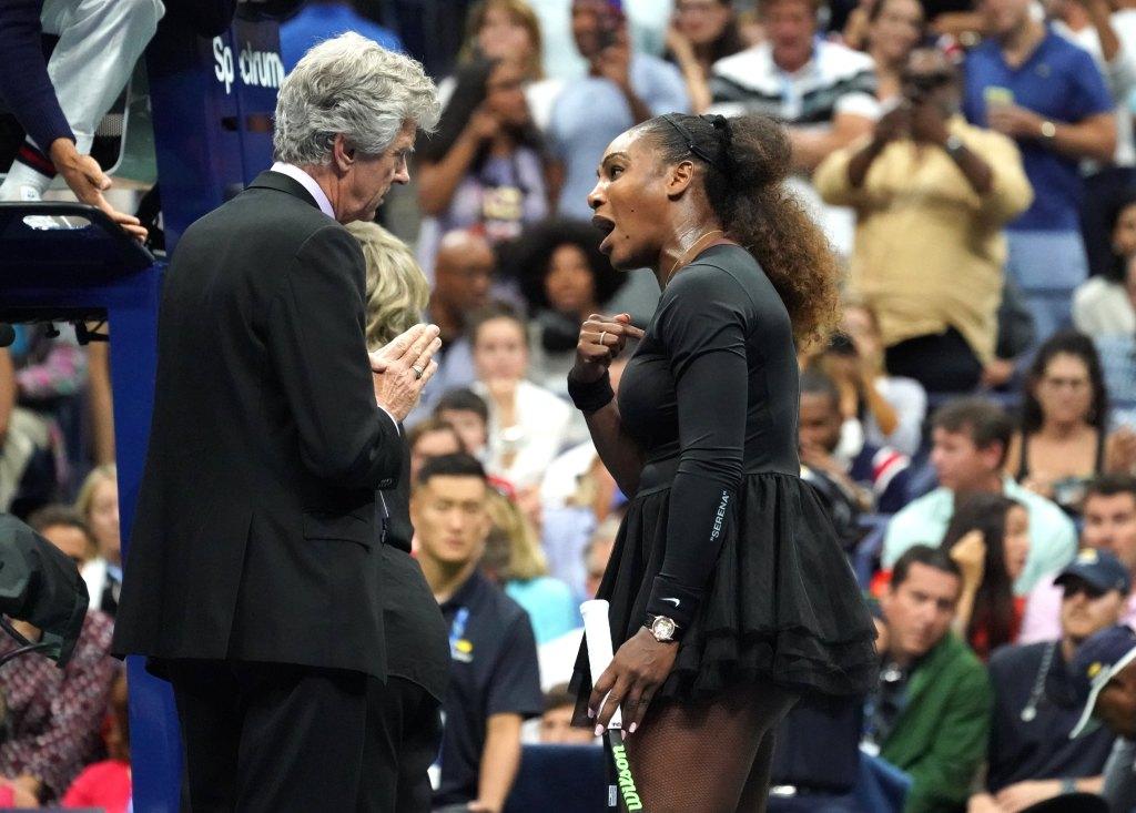 Multan a Serena Williams con 17 mil dólares tras final del US Open - Foto de AFP