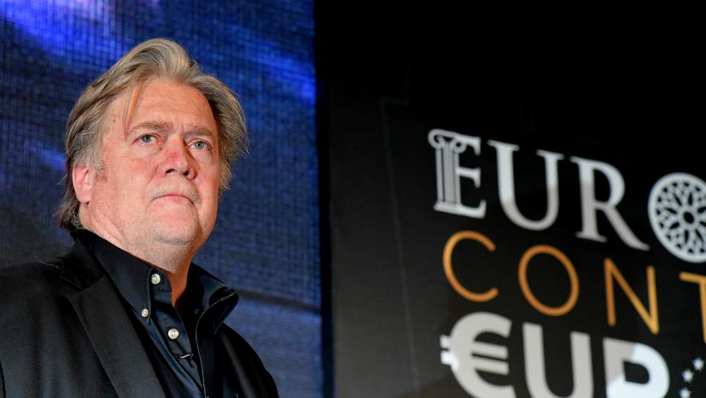Steve Bannon ofrece ayuda a populistas con miras a las elecciones europeas. Noticias en tiempo real