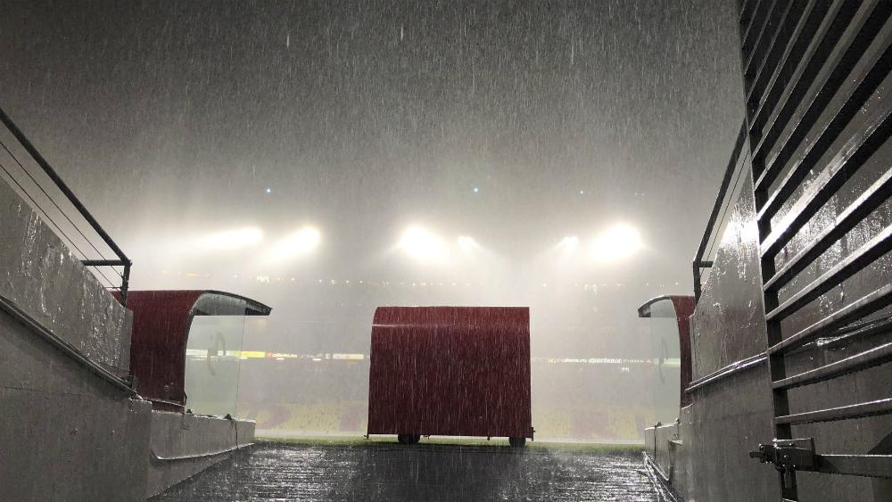 Morelia y Pumas terminan en empate tras tormenta eléctrica - Foto de Mexsport
