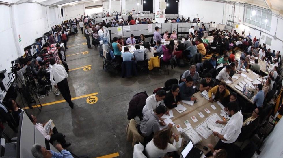 Con 70 por ciento de recuento, Martha Alonso mantiene ventaja en Puebla - Foto de @JL_VargasV