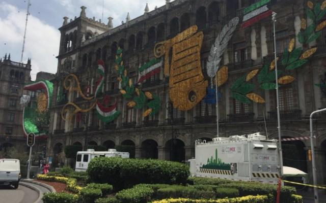 Instalará C5 unidad móvil en el Zócalo por festejos patrios - Foto de @C5_CDMX