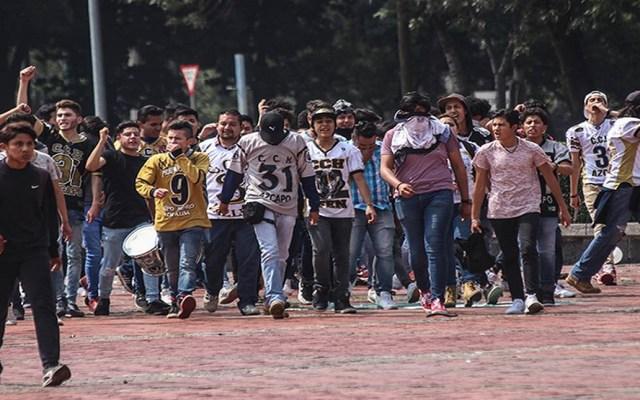 Vinculan a proceso a dos por agresión porril en la UNAM - agresion estudiantes unam porros