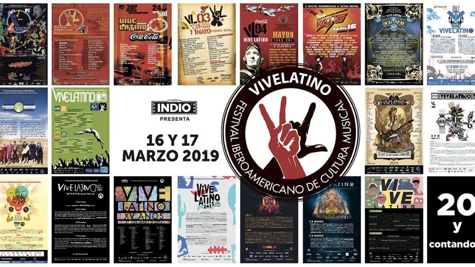 Foto de Twitter Vive Latino