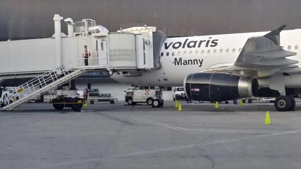 Dan de alta a pasajeros lesionados en vuelo de Volaris - Foto de En El Aire