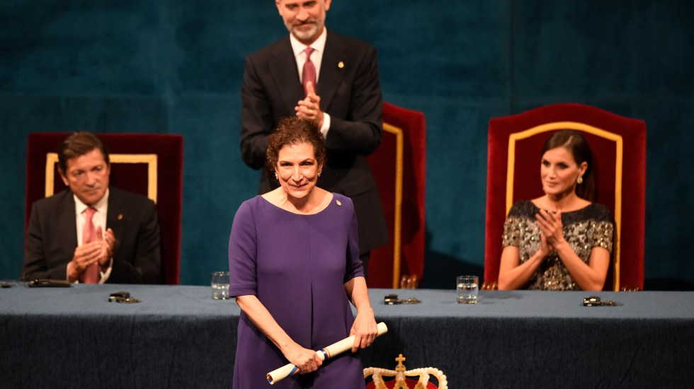 El mensaje de Alma Guillermoprieto al recibir el Premio Princesa de Asturias - Foto de AFP