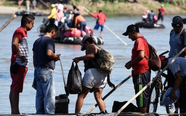 Diputados del PRI piden respetar derechos humanos de migrantes - Caravana migrante. Foto de AFP