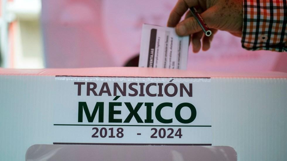 Consulta sobre el aeropuerto: Perdió Texcoco - Foto de AFP