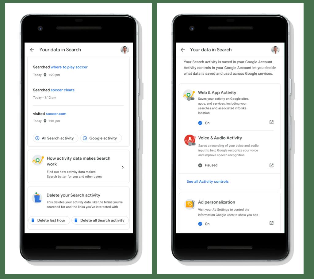 Google ahora permite borrar historial de manera más sencilla - Foto de Google