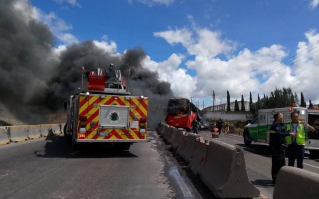 Accidente en carretera Puebla-Acatzingo deja al menos un muerto - Foto de Twitter