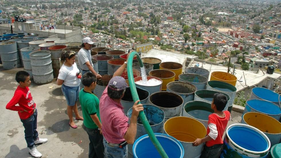 Las colonias afectadas por el corte de agua en Ciudad de México - Las colonias que no tendrán agua en la cdmx