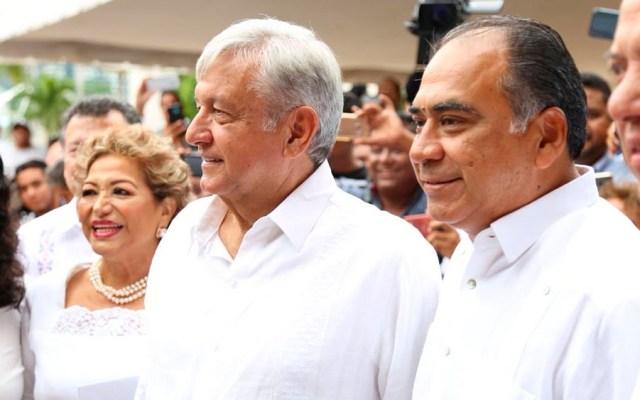 López Obrador se reúne con Héctor Astudillo - López Obrador