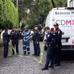 Así ocurrió el ataque afuera de casa de Norberto Rivera - Policías afuera de la casa de Norberto Rivera tras ataque. Foto de Internet