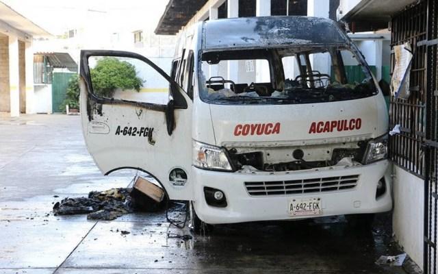 Ataque a sitio de combis en Acapulco deja un herido - Foto de Milenio
