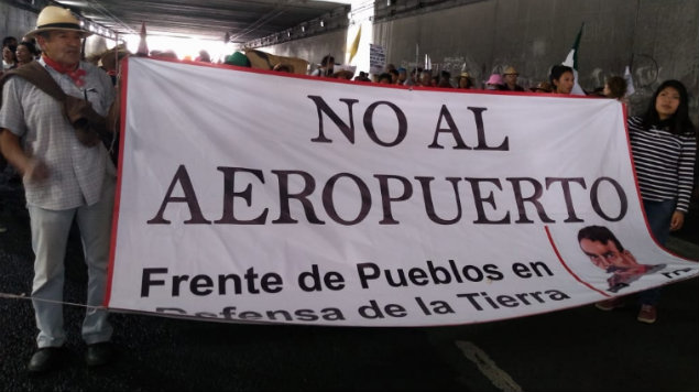 Pobladores de Atenco explicarán su negativa a la construcción del NAIM