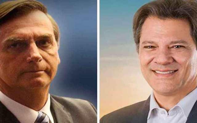 Habrá segunda vuelta electoral en Brasil - Jair Bolsonario y Fernando Haddad se verán en la segunda vuelta. Foto Especial