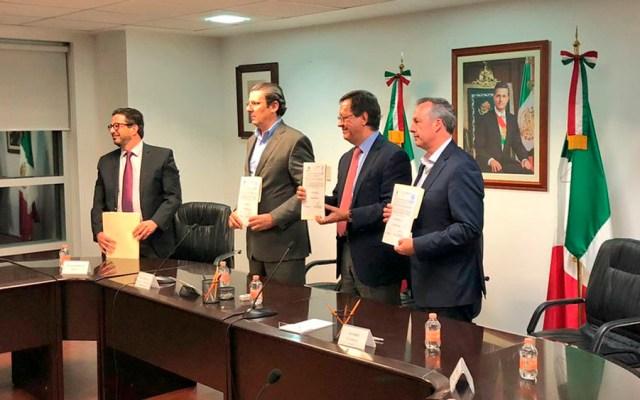 STPS reconoce voluntad de pilotos y Aeroméxico para firmar contrato - Foto de @1campa