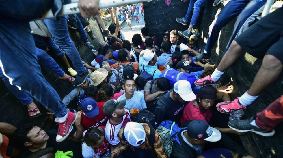 México no cederá a presiones por paso de caravana migrante: Segob - Foto de AFP