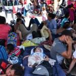 Caravana migrante pasará la noche en Huixtla - Caravana migrante pasará la noche en Huixtla